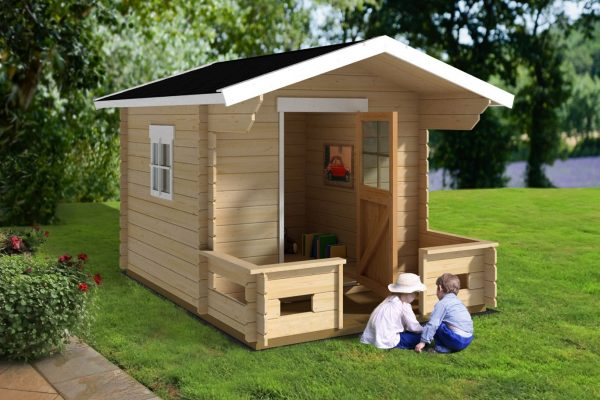Modest Villa - 31 sq. ft. Playhouse