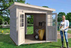 Storage 69 - Modern Style Wooden Storage