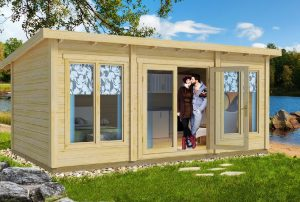 Little Villa 168 Modern Style Cabin