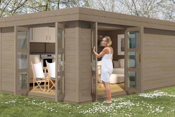 Little Villa 181 Modern Style Cabin
