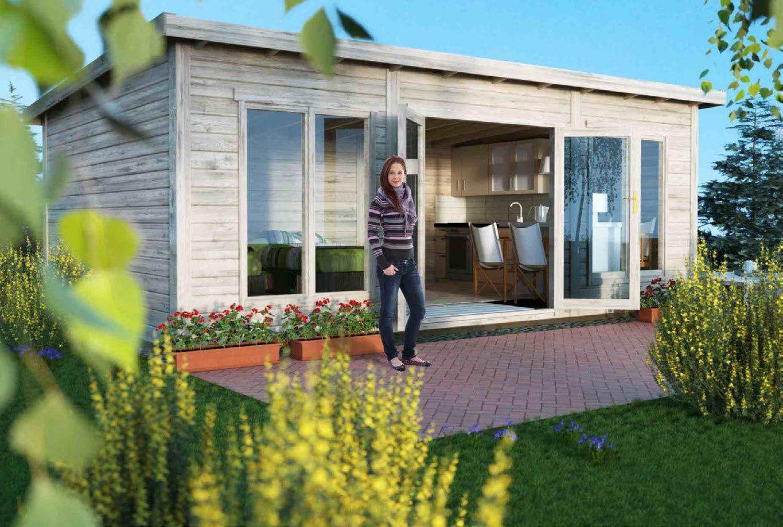 Little Villa 260 Modern Scandinavian Log Cabin 100