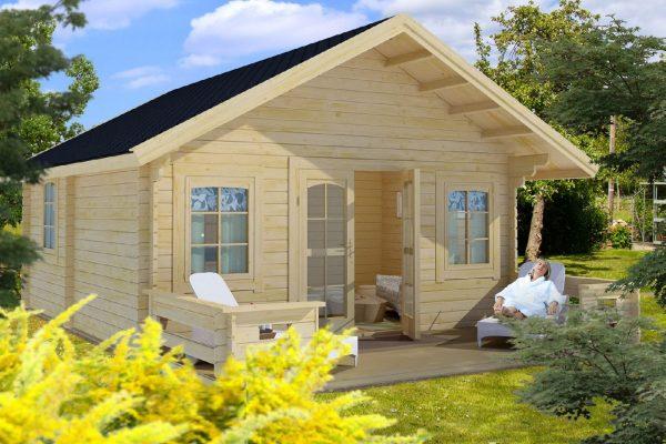 Little Villa 307 Traditional Style Cabin